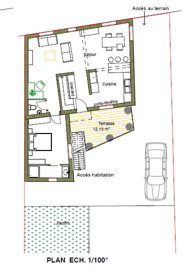 Maison Horbourg Wihr 5 pièce(s) 115 m2 – VENDU ! –