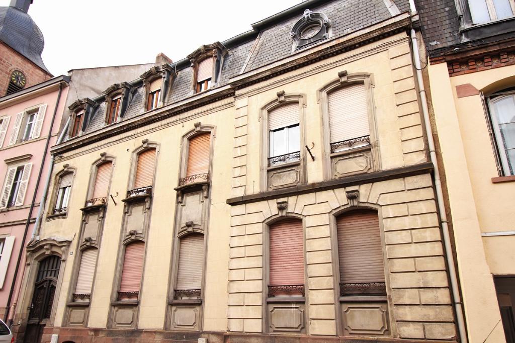 EXCLU IA68-  Immeuble avec cachet – Sainte Marie aux Mines