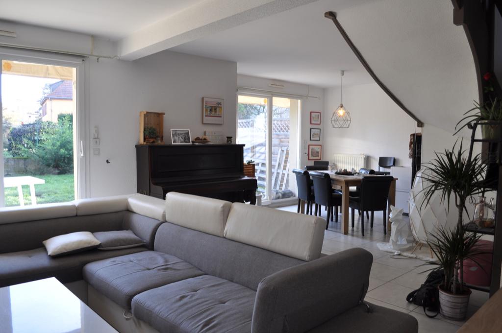 Maison contemporaine accolée PULVERSHEIM – VENDU ! –