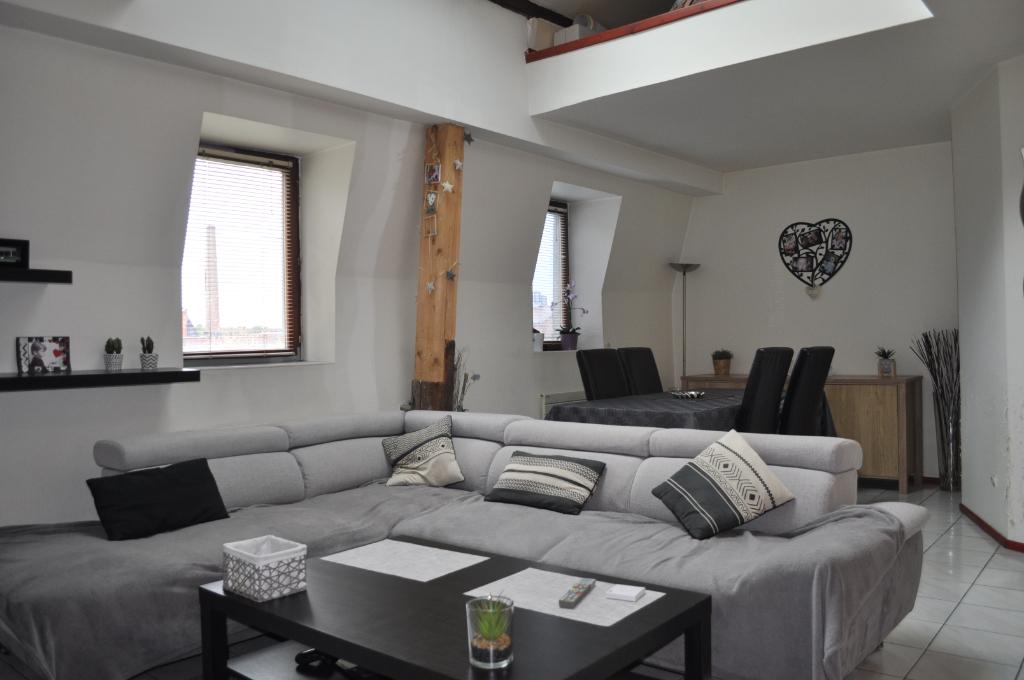 IA68 -Appart Duplex T3 86 M2 à Mulhouse